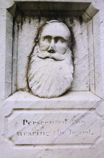 Joseph Palmer's grave, Leominster, Mass.