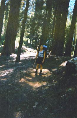 Jen on Trail