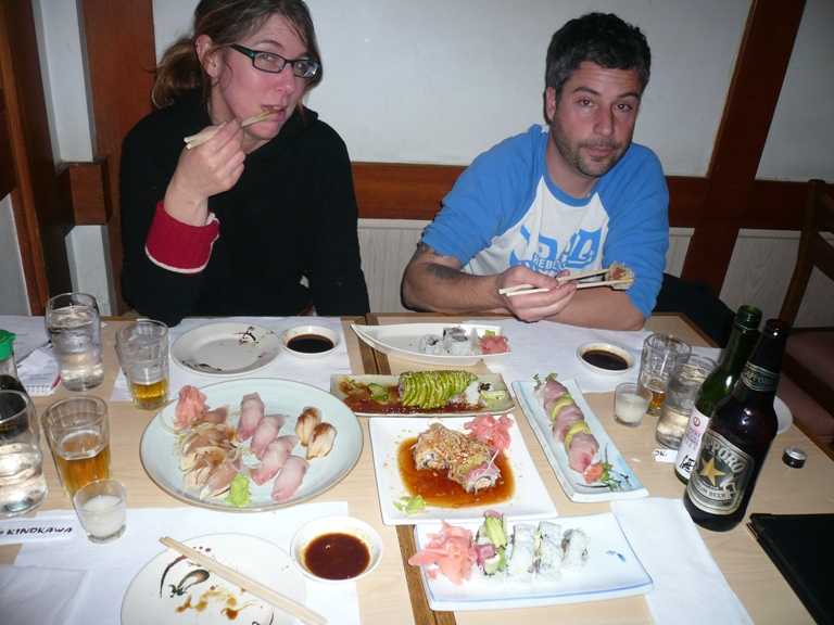 sushi in lb