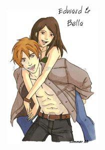 Edward & Bella by Summer Maxwell