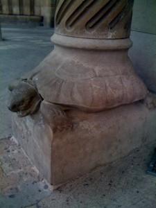 turtle pillar